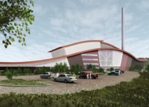 Artist's impression of Newhurst ERF facility