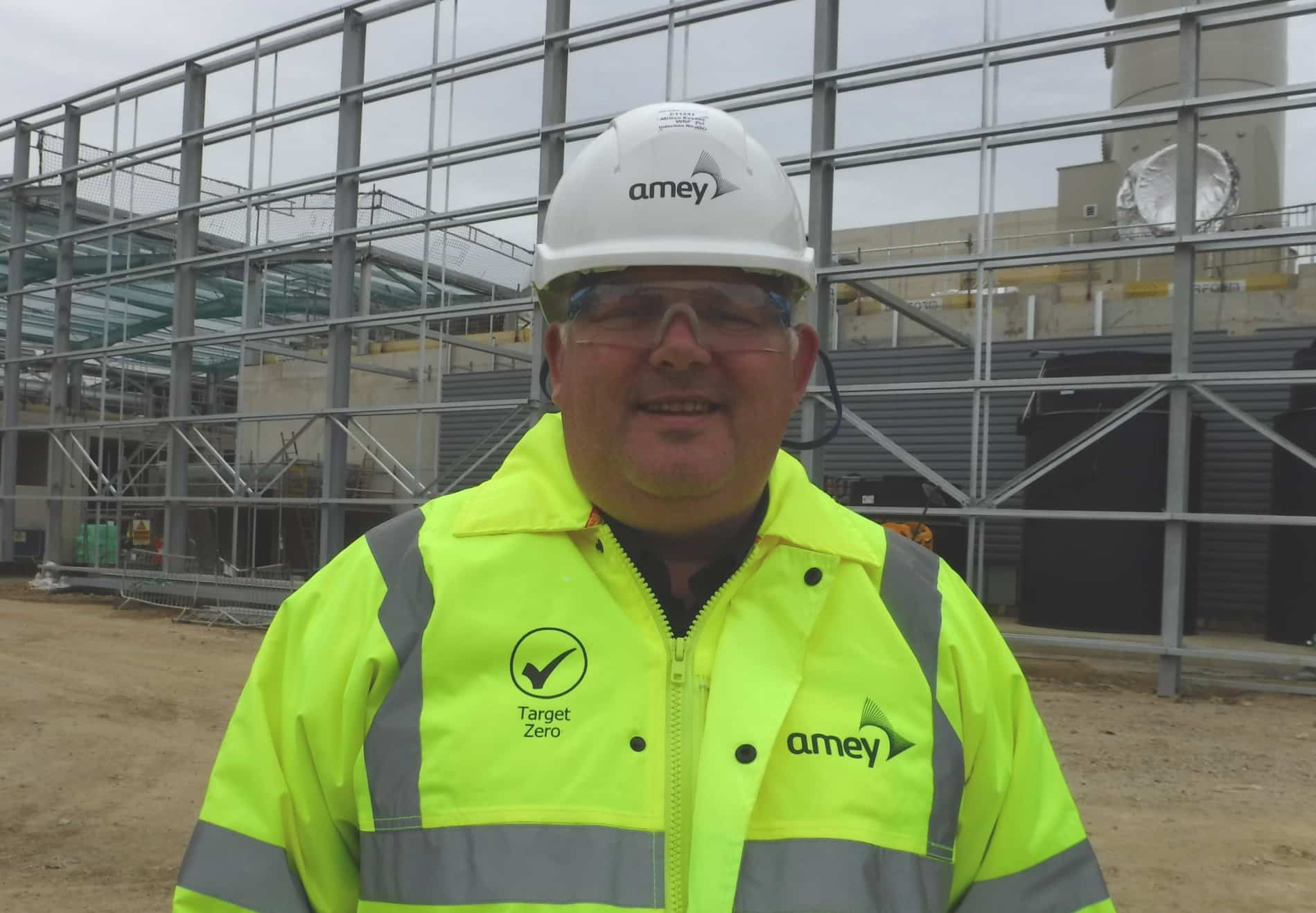 Peter Waller, head of construction at Amey's MK Waste Recovery Park