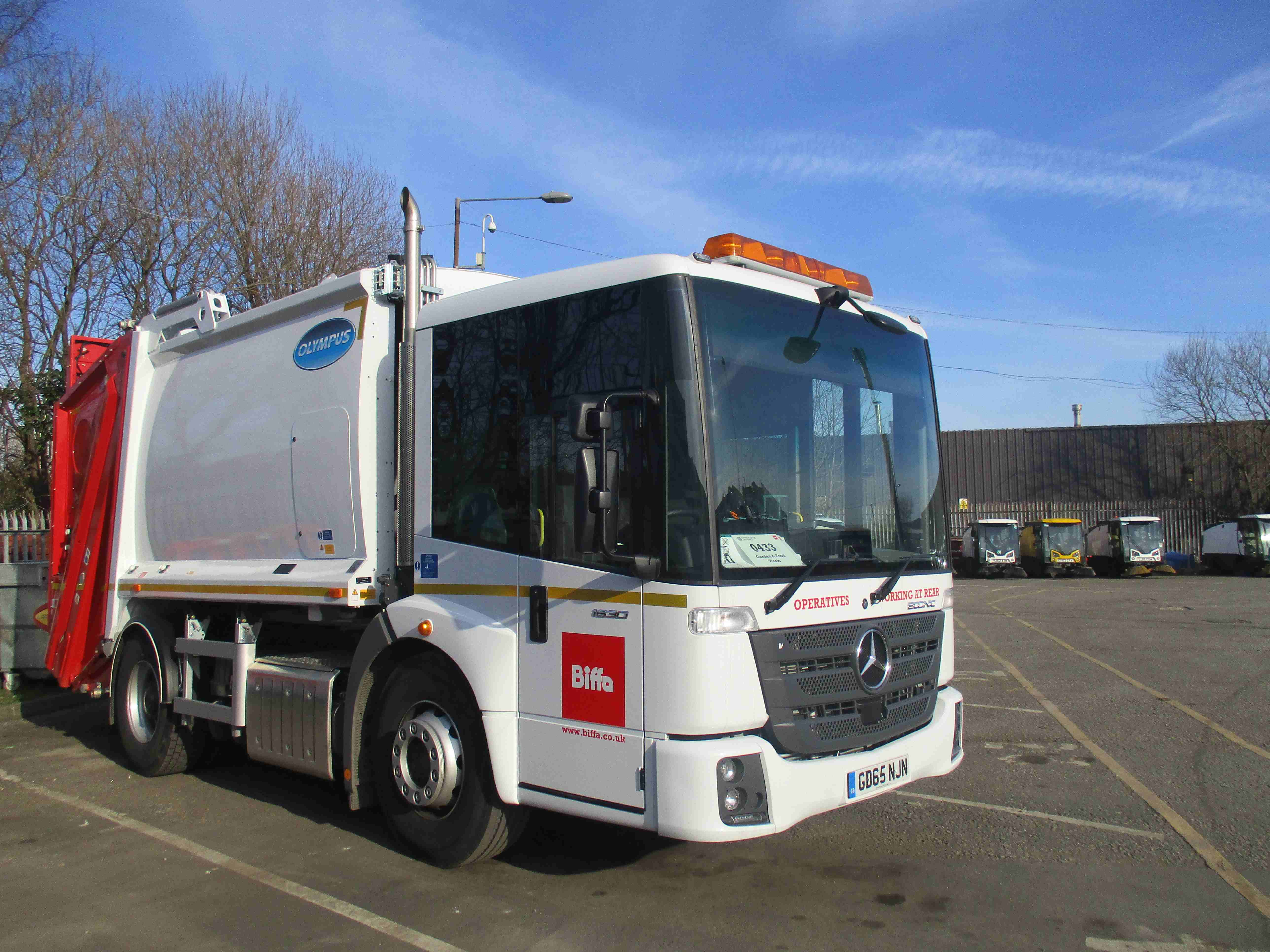 Biffa has taken delivery of several new vehicles to upgrade its Manchester waste collection fleet