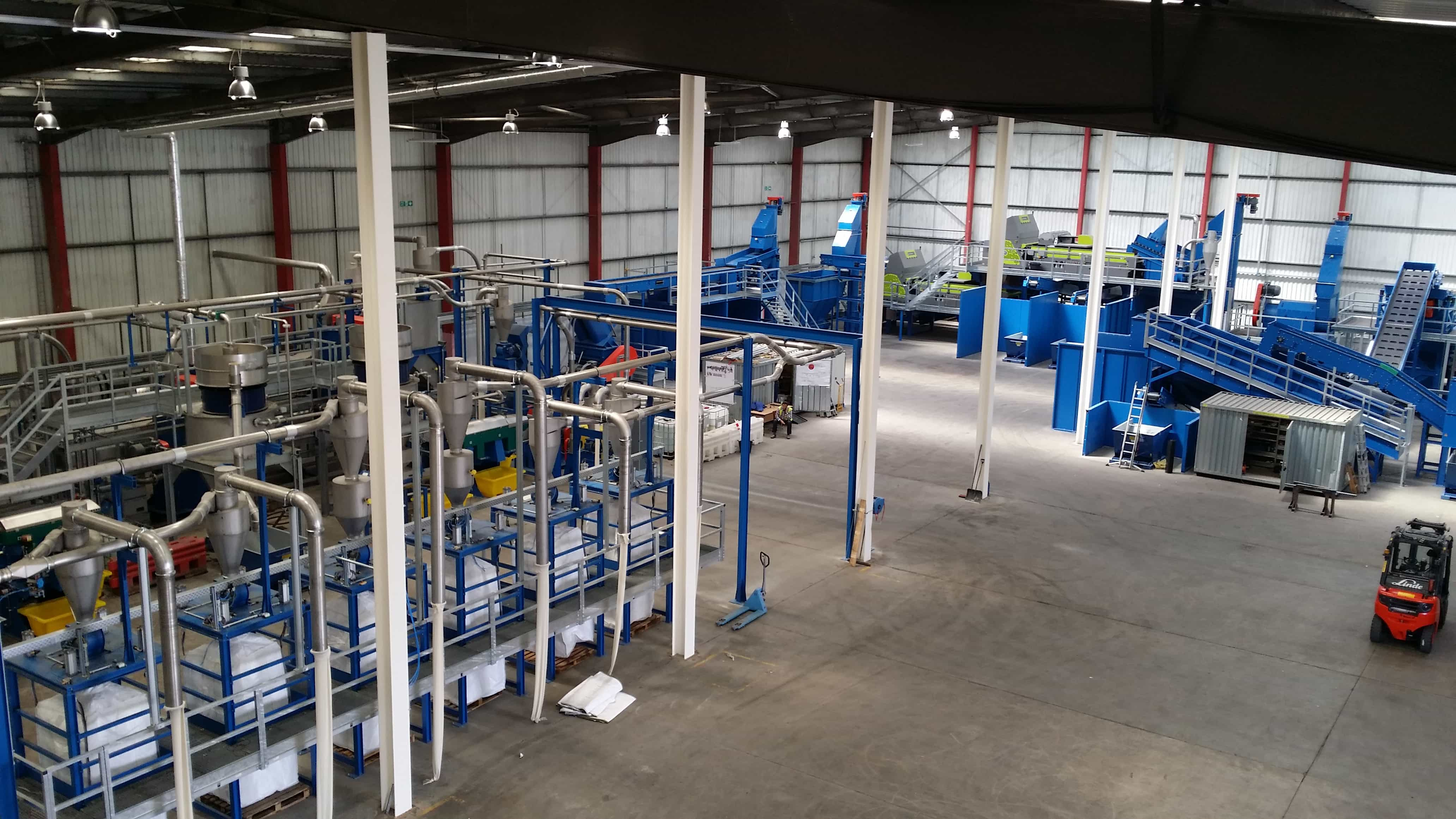 The £6.5 million plant was set up with financial help from LWARB.