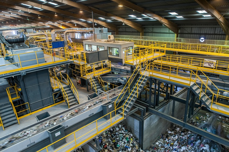 Turmec specialises in the end-to-end design and build of 'complex' waste separation and processing systems for recycling plants